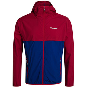 Berghaus Corbeck Wind Jacket Men, haute red/sodalite blue
